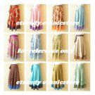 10pcs Wholesale Lot Vintage Silk Magic Wrap Skirt Halter Tube Maxi Dress + DVD