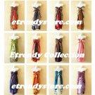 Wholesale Premium Lot - 10pcs Vintage Silk Magic Wrap Skirt Halter Dress +DVD