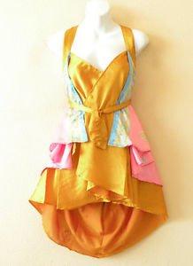 "B30 Reversible Vintage Silk Magic 20"" Mini Wrap Skirt Halter Tube Top + DVD"