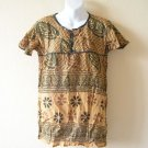 Bohemian Hippie Boho Ethnic Top / Blouse - XS