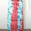 Crinkle Gypsy Tunic Bohemian Broomstick Tie Dye Long Maxi Skirt - S, M & L