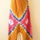 Hippie Gypsy Boho Tunic Bohemian Tie Dye Long Maxi Skirt - M
