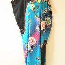 KD74 Batik Women Kaftan Caftan Batwing Tunic Abaya Dolman Maxi Dress L to 1X