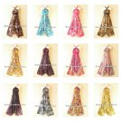 Wholesale 10pcs Versatile Halter Silk Multi Wear Women Scarf Maxi Long Dresses
