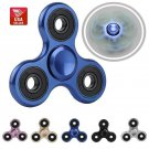 50pcs of Bulk Metallic Classic Metal Tri Spinner Fidget Torqbar Alloy Finger Toy US Stock