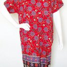 Floral Boho Gothic Women Gypsy Bohemian Blouse & Short Pants Suit Set - S & M