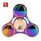 40X Wholesale USA Stock Rainbow Titanium Alloy Hand Fidget Spinner