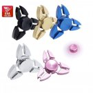 US Seller Triangle Brass Metal Tri Spinner Fidget Torqbar Alloy Finger Toy