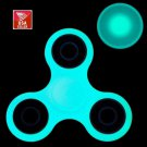 50X USA Stock Bulk Rare Teal Color Fidget Spinner EDC Toy Glow in Dark in Gift Boxes