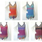 Bohemian Hippie Women Nepal Ethnic Embroidered Patchwork Top / Blouse - S