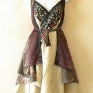 """M265 Reversible Vintage Silk Magic 30"""" Length Wrap Skirt Halter Tube Dress + DVD"""