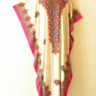 KD150 Dolman Floral Women Kaftan Caftan Batwing Tunic Abaya Maxi Dress 1X to 3X