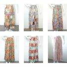 Women Boho Bohemian Peasant Print Hippie Gypsy Patchwork Maxi Long Skirt