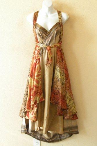 "E475 Vintage Silk Magic 36"" Sarong Pareo Wrap Skirt Tube Dress + Bonus DVD"
