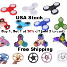 USA Stock LED, Batman, Wheel, Rainbow,  Glow in the Dark Fidget Spinner Finger