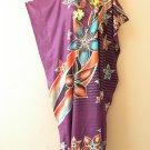 KD110 Batik Women Kaftan Caftan Hippie Tunic Abaya Boho Maxi Gown Dress L to 1X