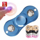 US Stock High Quality Titanium Flashing LED Lights Tri Fidget Spinner Torqbar