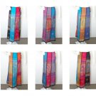 Women Hippie Gypsy Boho Bohemian Pleasant Embroidered Patchwork Skirt - XS & S