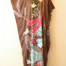 KD102 Batik Women Kaftan Caftan Hippie Tunic Abaya Boho Maxi Gown Dress L to 1X