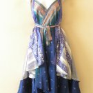"M417 Kariza Style Boho Women Silk Magic 30"" Wrap Skirt Halter Tube Dress + DVD"
