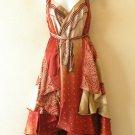 "M570 Beach Wear Vintage Silk Magic 30"" Length Wrap Skirt Halter Tube Dress + DVD"