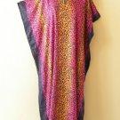 Batik Women Cotton Plus Caftan Kaftan Tunic Dolman Hippy Dress KD411 XL, 1X & 2X