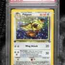 PSA 8 Graded First Edition Holofoil Jungle Set TCG Pokemon Cards
