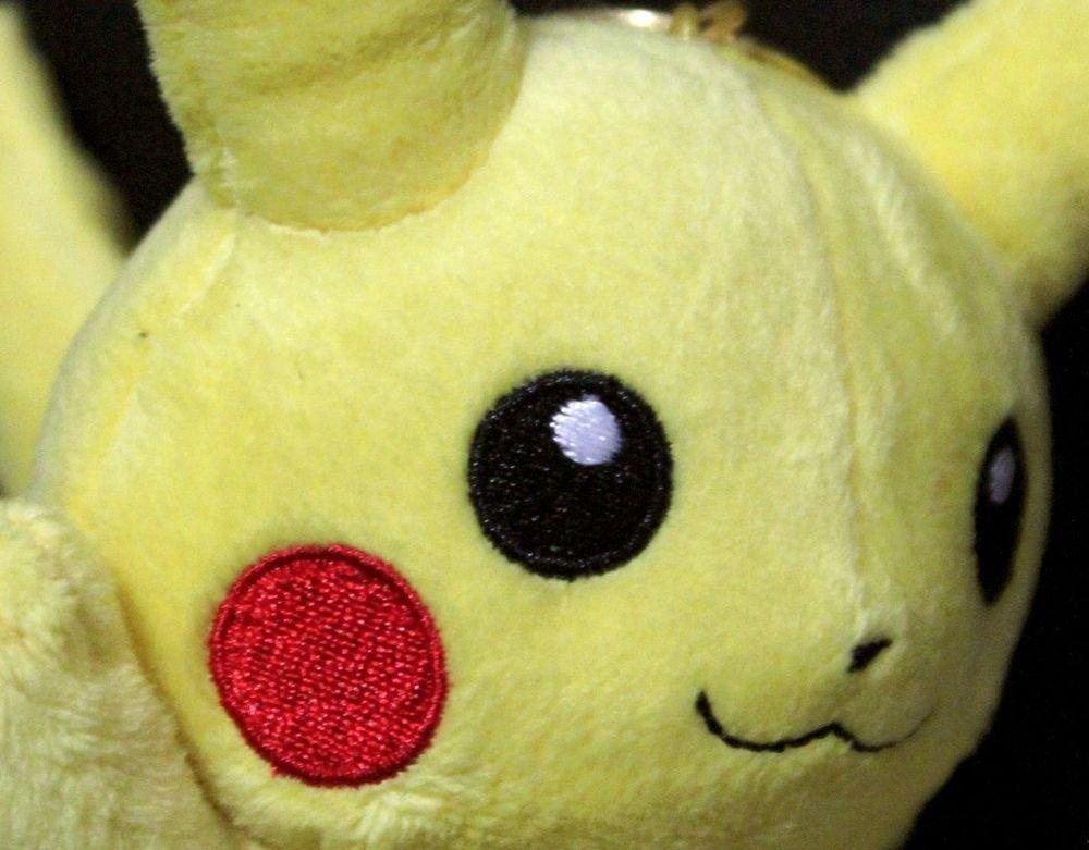 Very Rare Pokemon Center Pikachu Eevee Sylveon Mascot Plush Toy Doll +Free Card