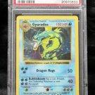 Pokemon Card Shadowless Gyarados 6/102 Base Set PSA Graded 7 Near Mint!