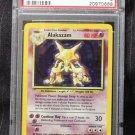Pokemon Card Alakazam 1/102 Base Set Holofoil PSA Graded 9 Mint!