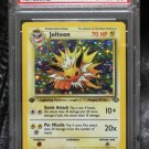 Pokemon Card First Edition Jolteon 4/64 Jungle Set Holofoil PSA Graded 9 Mint!