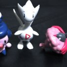 Pokemon Jakks Togetic, Mime Jr, & Steel Wormadam 3'' Figures Toys + Free Cards!