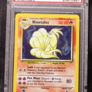 Pokemon Card Ninetales 12/102 Base Set Holofoil PSA Graded 9 Mint!