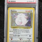 Pokemon Card Chansey 3/102 Base Set Holofoil PSA Graded 8 NM-Mint!
