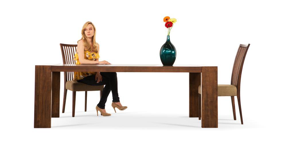 Clarkson Wood Top Dining Table