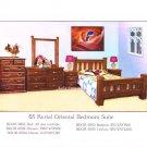 Rerial Oriental 5 pcs Queen Bedroom Suite