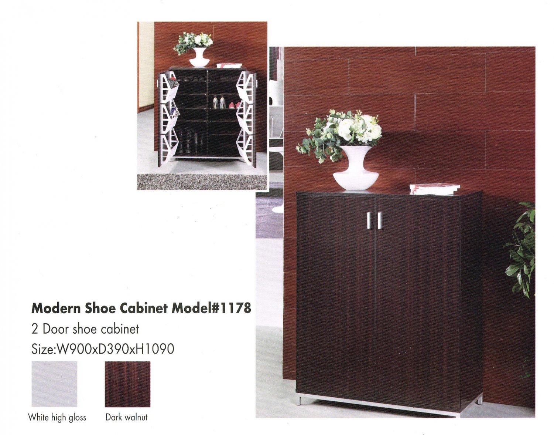 FS Modern 2 Doors Shoe Cabinet Model #1178