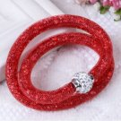 Stardust Bracelet Double Red