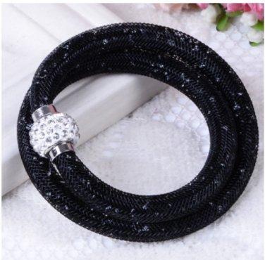 Stardust Bracelet Double Black