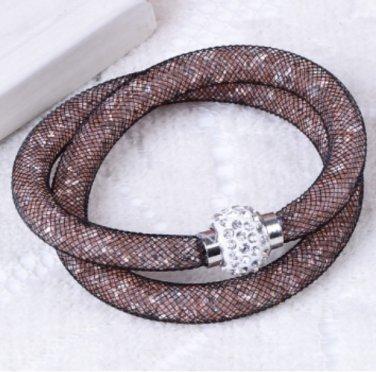 Stardust Bracelet Double Brown