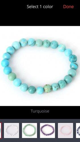 Natural stone bracelet Turquoise