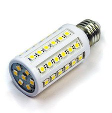 8W E27 44 LED DayLight SMD Corn Light Bulb Lamp