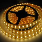 10xLED Strip Ribbon 5M Warm White Color SMD5050 60LEDs/M Non Waterproof with high quality chips