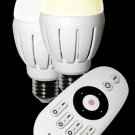 Super saved Mi Light WIFI starter kit including 2x6W Dual White LED Bulb+Wifi Box and remote control