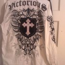 Victorious Men's Button-Down Shirt Size Large