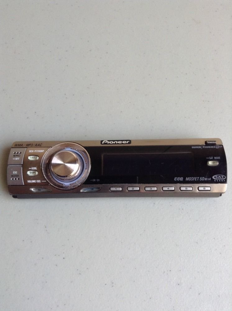 PIONEER DEH-P7700MP CD Replacement Faceplate