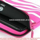 TABLET/LAPTOP EXOTIC POUCH UNIVERSAL 10.2INCH HORIZONTAL HOTPINK/WHITE ZEBRA USA