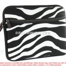 TABLET/LAPTOP EXOTIC POUCH UNIVERSAL 10.2 INCH HORIZONTAL BLACK/ WHITE ZEBRA USA