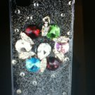 Apple iPhone 4 4S Bling Cover Crystal Diamond Case(Jewel) Luxury Rhinestone New!