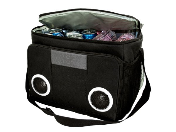 Ice Cooler Bag With Integrated MP3 Speaker Beach Pyle Best Deal Ever!